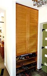 Bambusz bútorajtó