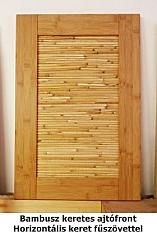 Bambusz ajtófront