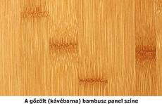 Gőzölt bambusz panel