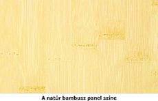 Natúr bambusz panel