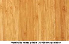 Vertikális gőzölt bambusz mintázat