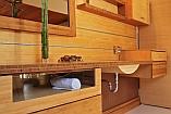 Bambusz fürdő bútor