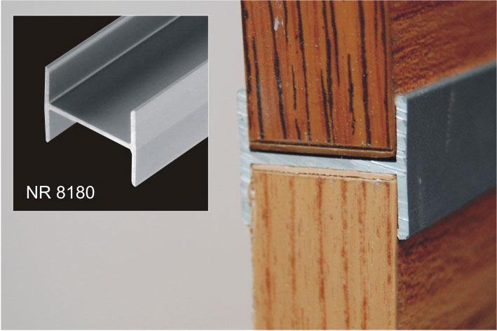 h profil 18 as b torlaphoz sima peremes alu 1 000 mm introwood webshop. Black Bedroom Furniture Sets. Home Design Ideas