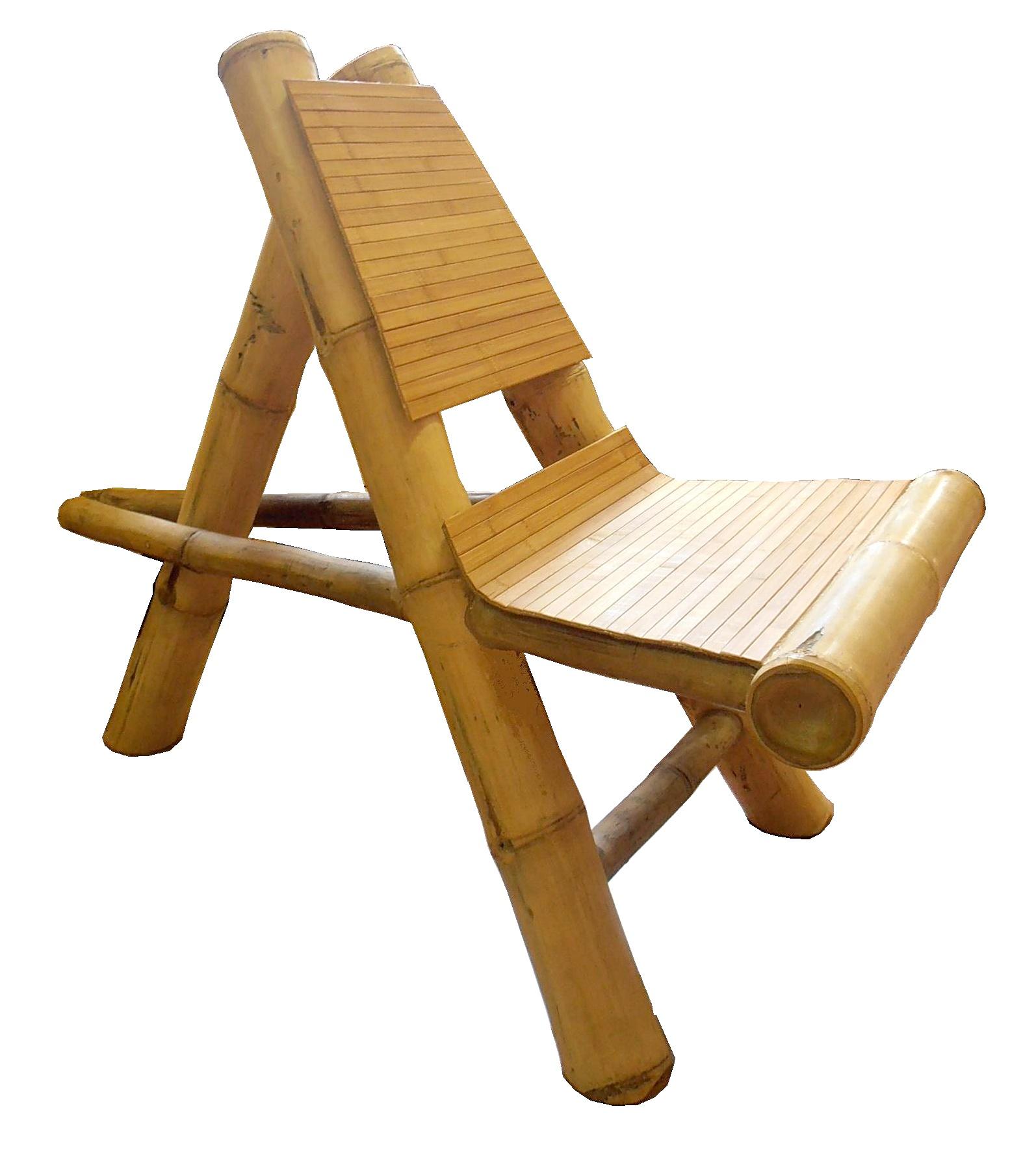 Afrika bambusz szék