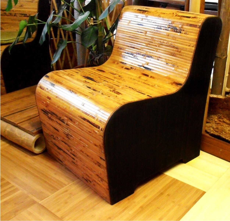 BENT - bambusz fotel, csokibarna