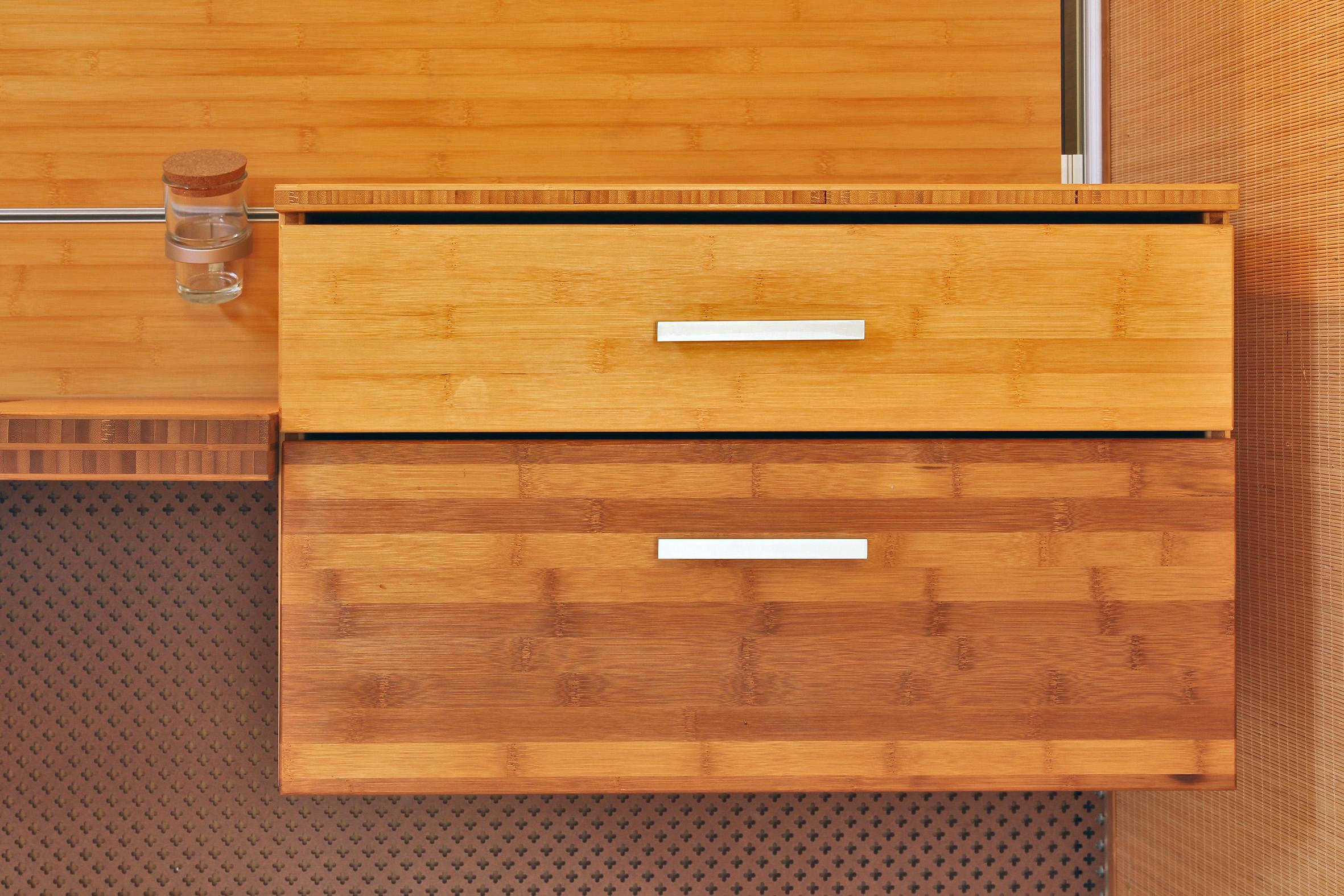 Lagun bambusz fürdőszoba bútor