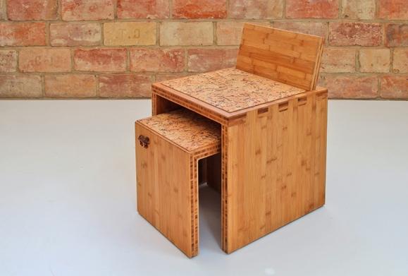 Tenon bambusz ülőkék, bambusz bárszék