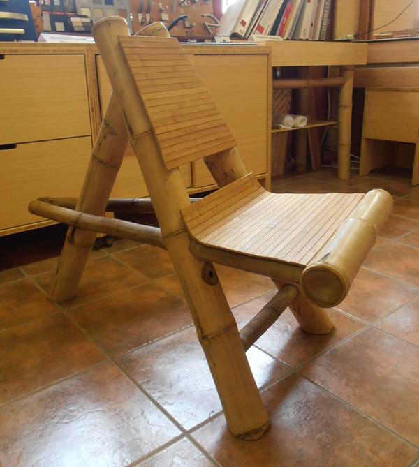 AFRICA bambuszrúd szék, natúr