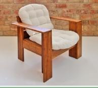 Robust bambusz fotel