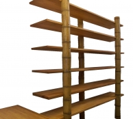 Hover bambusz polc