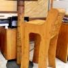BENT - bambusz bárszék, kávébarna