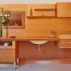 LAGUN - bambusz fürdőszoba bútor falpanellel
